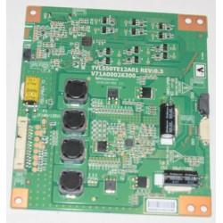 TOSHIBA TYL550TE12A01 LED DRIVER BOARD
