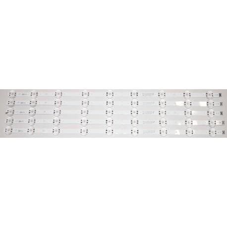 LG EAV64511901 LED STRIPS - 5 STRIPS