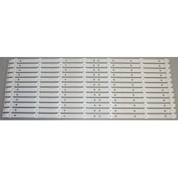 Toshiba 4708-K49WDR-A1213K11 LED Backlight Strips (12) 49L621U NEW