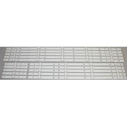 Sony 17Y 60UHD A B REV02 5LED LED Backlight Strip/Bars (10) KD-60X690E