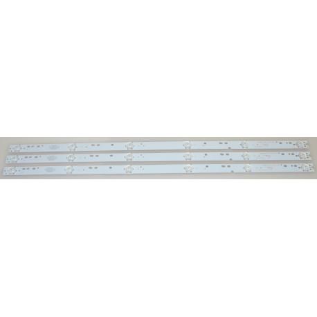 HAIER 303XJ320034 LED STRIPS - 3 STRIPS