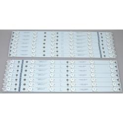 Vizio TPT430H3-QVN01.U LED Backlight Strips (14) V.1