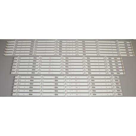 SAMSUNG BN96-51025A / BN96-51026A / BN96-51027A BACKLIGHT STRIPS (18)