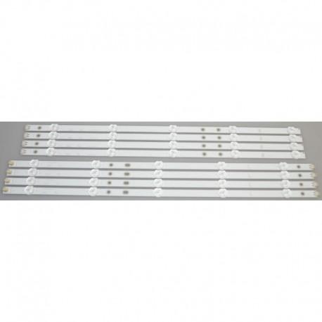 VIZIO LB50069 LED BACKLIGHT STRIPS (8)