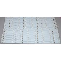 Vizio LBM500P0402 Replacement LED Backlight Strips (16) M502I-B1
