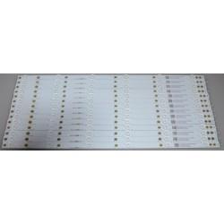 Vizio LB55092 V0_00 Replacement LED Backlight Bars/Strips (14) E55-E1
