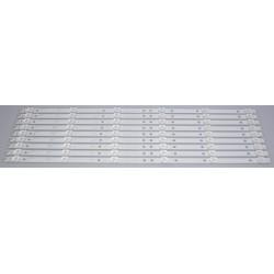 Toshiba A-CNK49D656/ 4708-K49WD7-A1213K11 LED Backlight Strips (9) 49L