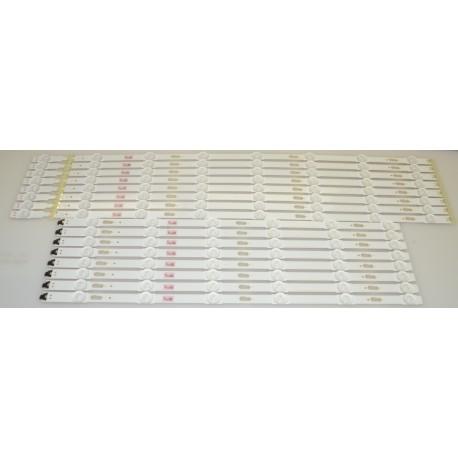 SAMSUNG BN96-39663A/BN96-39664A LED STRIPS - 16 STRIPS