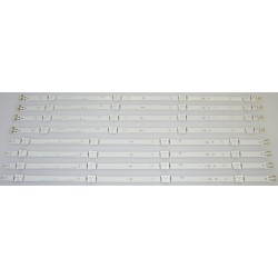 SAMSUNG BN96-37296A/BN96-37297A LED STRIPS - 8 STRIPS