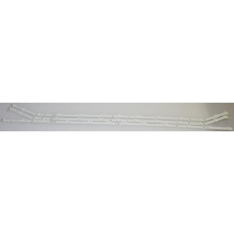 Samsung BN96-28766A/BN96-28767A LED Strips - 3 Strips