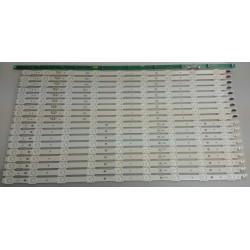 Samsung BN96-33495A, BN96-33496A LED Strips - 18 Strips