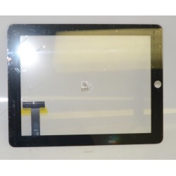 IPAD 4 FRONT TOUCH PANEL DIGITIZER (BLACK) (IP-IPD-1004)