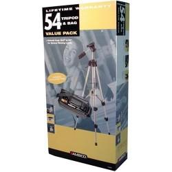 AMBICO V-5593 Tripod & Camcorder Bag Value Pack, V-5593